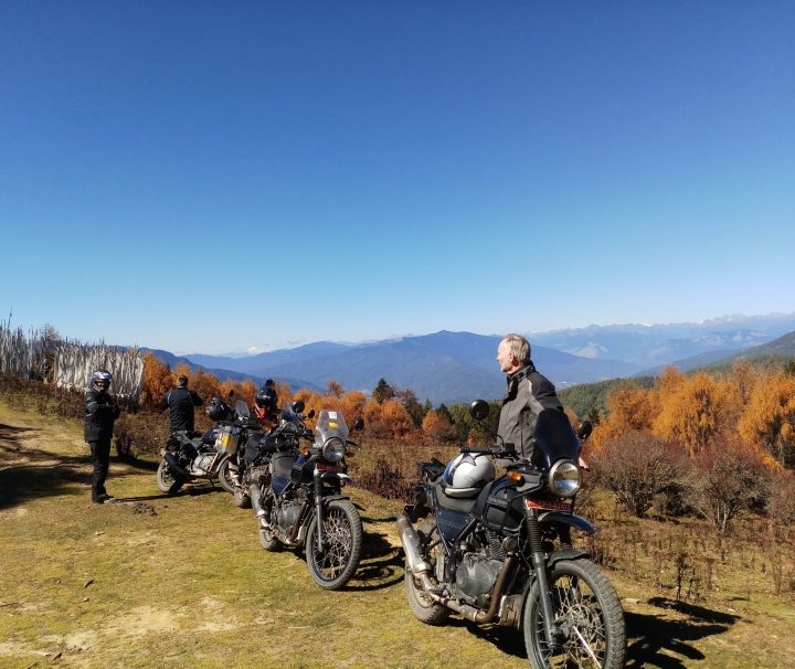 Cruising The Hills On Wheels bhutan